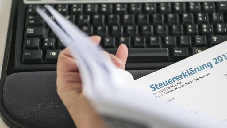 Seit 2010 können Steuerpflichtige, die Steuern hinterzogen haben, sich beim ersten Mal straflos selbst anzeigen. (Themenbild).