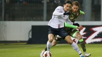 Kevin Spadanuda zeigte sich gegen den FC Thun in bestechender Form.