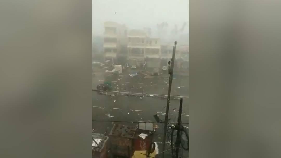 """""""Fani"""" erreicht indische Küste: 1 Mio. Menschen evakuiert"""