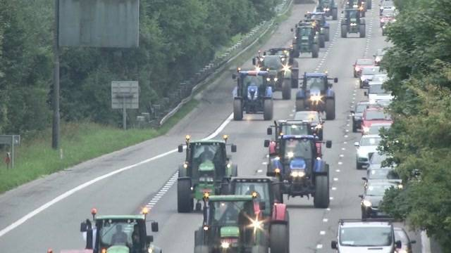 Die europäischen Landwirte in Brüssel