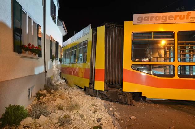 Tramunfall Münchenstein