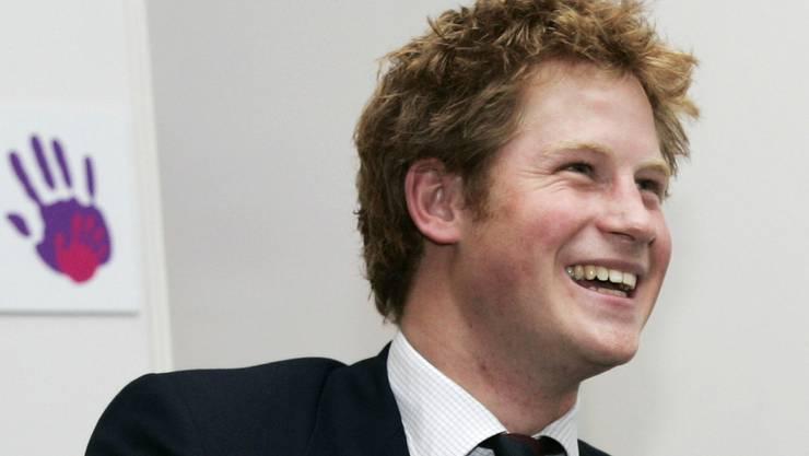 Blickt mit Freude auf seine Rolle als Onkel: Prinz Harry (Archiv)
