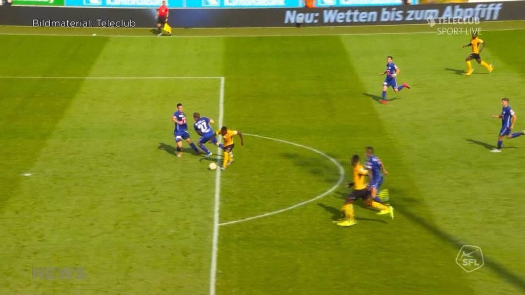 YB und Luzern spielen Unentschieden