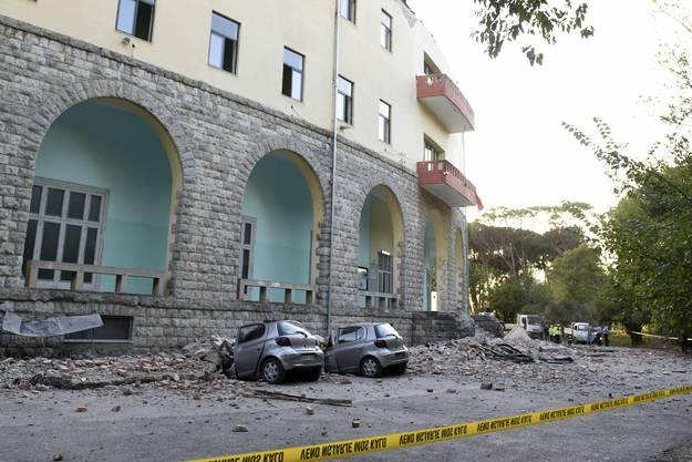 Das Erdbeben hatte eine Stärke von 5,8 auf der Richterskala.