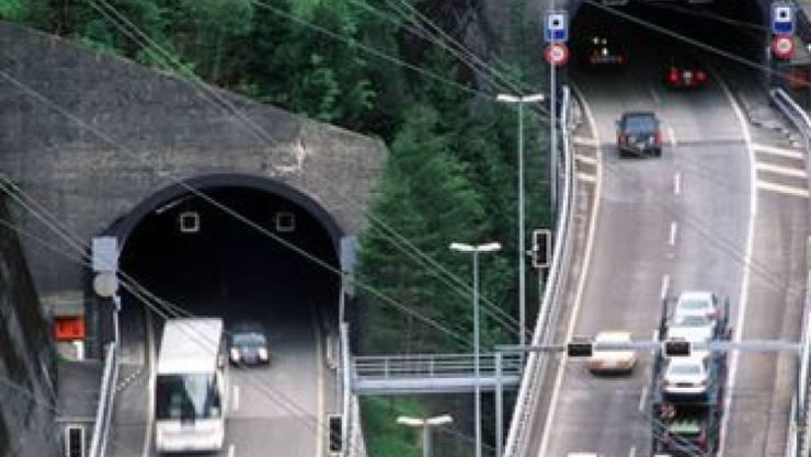 Die A2 zwischen Amsteg und Göschenen wird saniert. (Archivbild)
