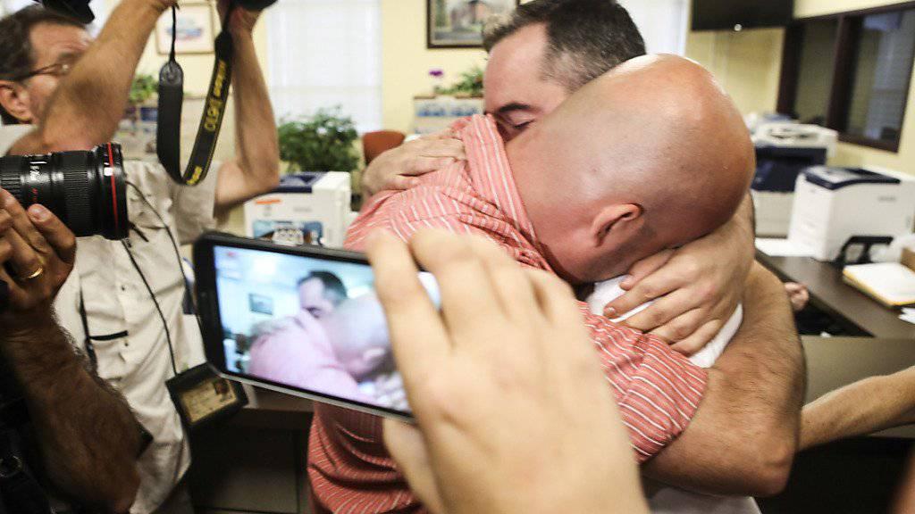 Kentucky traut erstmals schwules Paar