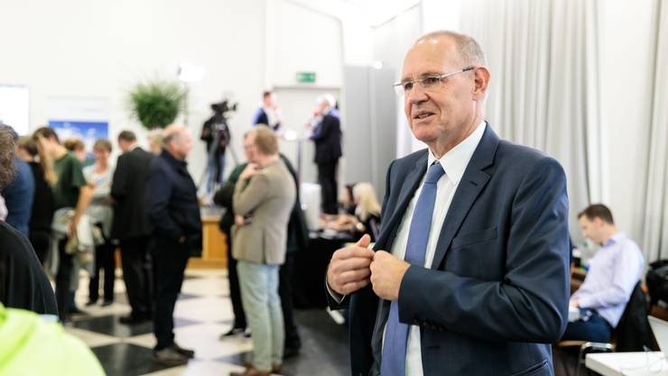 Die Delegierten nahmen deutlich Stellung zu den Abstimmungsvorlagen. So auch Parteipräsident Stefan Nünlist. (Archiv)