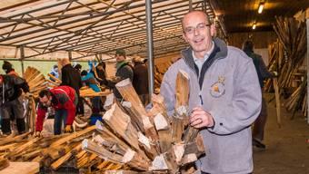 Jaro Kubicek steht als neuer Chienbäse-Chef vor seiner Feuertaufe.