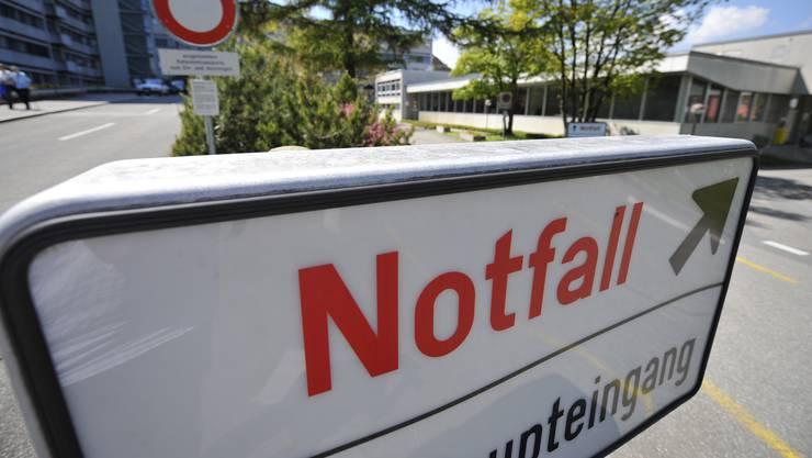 Die verletzte Frau wurde direkt ins Bürgerspital Solothurn eingeliefert.