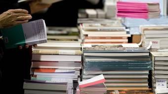 Nach einem Jahr Unterbruch findet in Basel 2014 wieder eine Buchmesse statt (Archiv)
