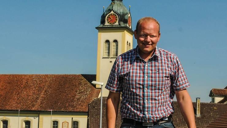 Der Sarmenstorfer Matthias Baur ist der jüngste Gemeinderat im Freiamt. (Archivbild)