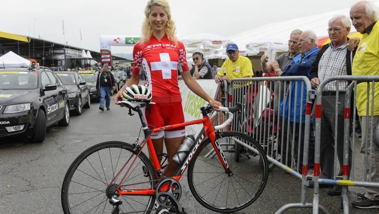 Mountainbike-Gesamtweltcupsiegerin Jolanda Neff könnte dem Schweizer Team einen Schub verleihen: Sie plant an Olympia auch auf der Strasse anzutreten.