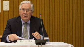 Der britische Notenbankchef Mervyn King hatte in Basel den Vorsitz inne