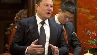 Elon Musk muss sich auf neuen Ärger mit der US-Börsenaufsicht SEC wegen der Benutzung von Twitter einstellen. (Archivbild)