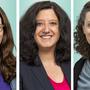 Lisa Mathys, Michela Seggiani und Danielle Kaufmann (v.r.)