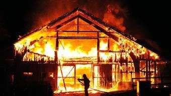 Grossbrand in Elgg