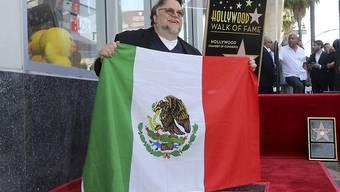 Nutze eine Zeremonie in Hollywood für einen politischen Aufruf: Mexikos Filmemacher Guillermo del Toro.