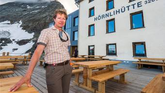 Zum vierundzwanzigsten Mal wird Kurt Lauber heuer den Sommer auf über 3000 Metern verbringen.