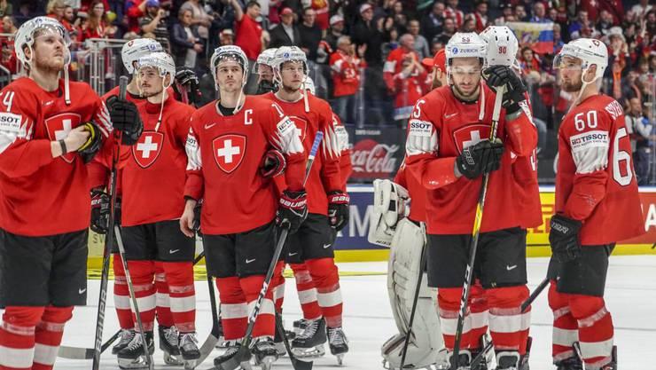 Die Enttäschung nach dem knappen WM-Aus gegen Kanada ist gross.