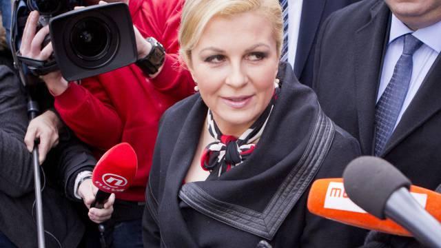 Weltgewandt statt hausbacken: Wahlsiegerin Kolinda Grabar Kitarovic