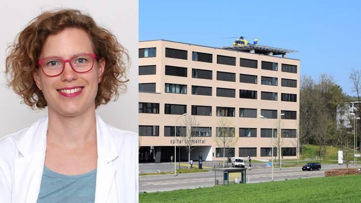 Zurzeit ist Spitalapothekerin  Marion Matousek vor allem mit dem Einkauf der Medikamente beschäftigt, weil nur noch Kontingente geliefert werden.