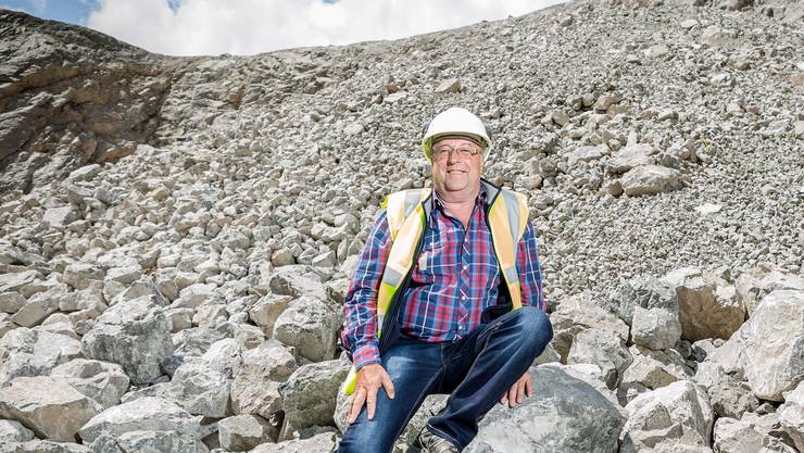 Hubert Bär war der Erste, der durch den Gotthard-Tunnel kroch.