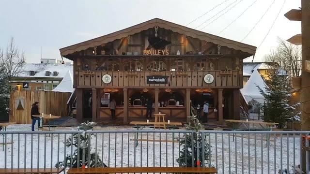 Winter-Wunderland in der Solothurner Vorstadt ist bereit
