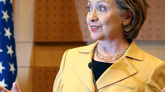 US-Aussenministerin Clinton (Archiv)