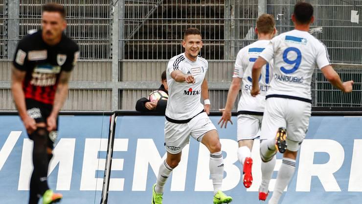 Wohler Freude über den einzigen Derbysieg.