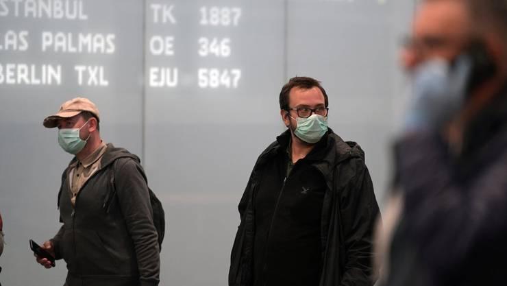 Sie sind dieser Tage ein rares Gut: Schutzmasken.