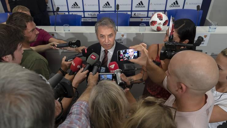 Marcel Koller ist als Zürcher beim FCB gelandet und sagt: «Wir wollen den Kübel zurück nach Basel holen»