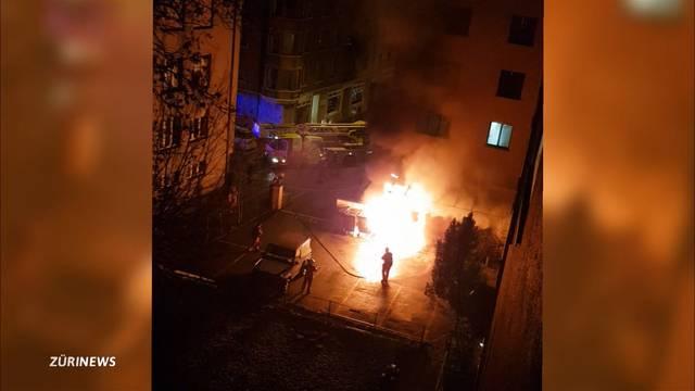 Explosion in Kellerabteil fordert einen Toten