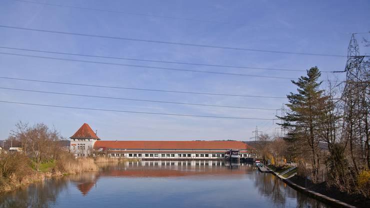 Eines der Alpiq-Wasserkraftwerke im Kanton Solothurn: Das Kraftwerk Gösgen. (Archiv)