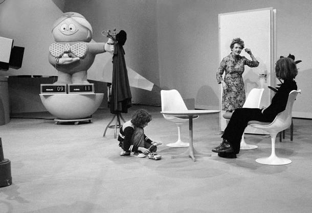 Die Sendung «Teleboy» des Schweizer Fernsehens bedeutete ihr Druchbruch (1974).