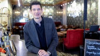 Geschäftsführer Stephan Keller im Des Arts