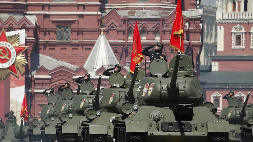 Militärparade zum Sieg über Hitler-Deutschland gestartet
