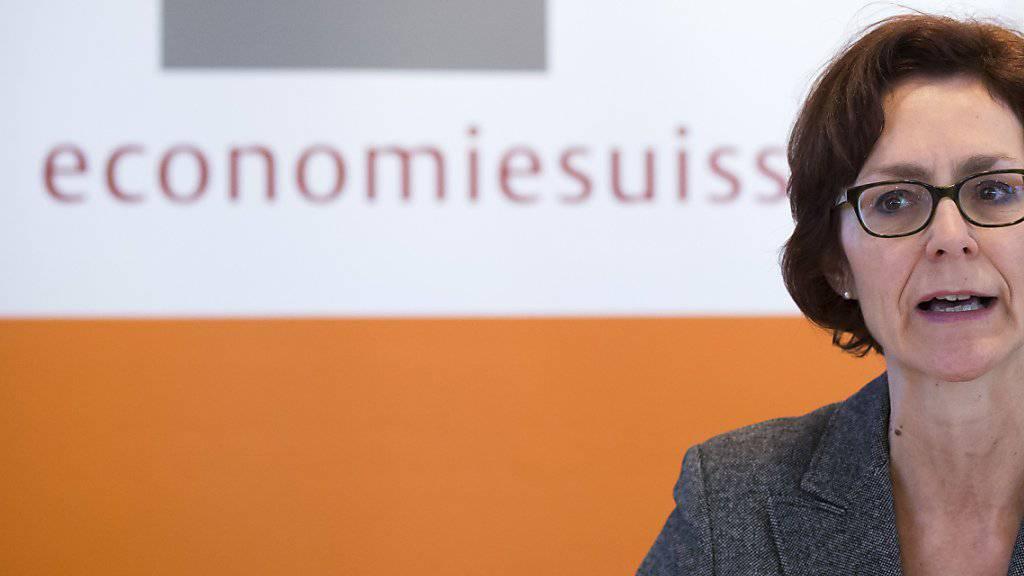 Economiesuisse hält an bisherigen Prognosen für das Wachstum in der Schweiz fest. (Archivbild)