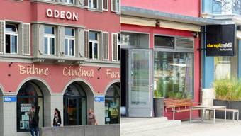 Kulturhäuser Odeon und Dampschiff in Brugg