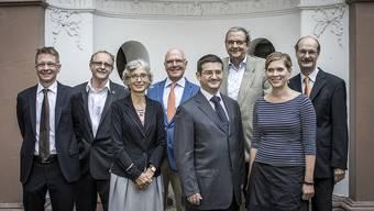 Daniel Müller (Bürgerratsschreiber), Lucas Gerig (GLP), Gabriella Matefi (SP), Lukas Faesch (LDP), Patrick Hafner (SVP), Leonhard Burckhardt (SP), Fabienne Beyerle (FDP), Stefan Wehrle (CVP)