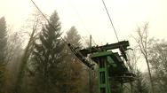 Skilift-Talfahrt