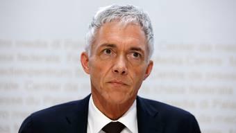 Über die Wiederwahl von Bundesanwalt Michael Lauber entscheidet das Parlament übernächste Woche. Nun hat die Gerichtskommission ihre Erwägungen und die Stellungnahme des Bundesanwalts veröffentlicht. (Archivbild)