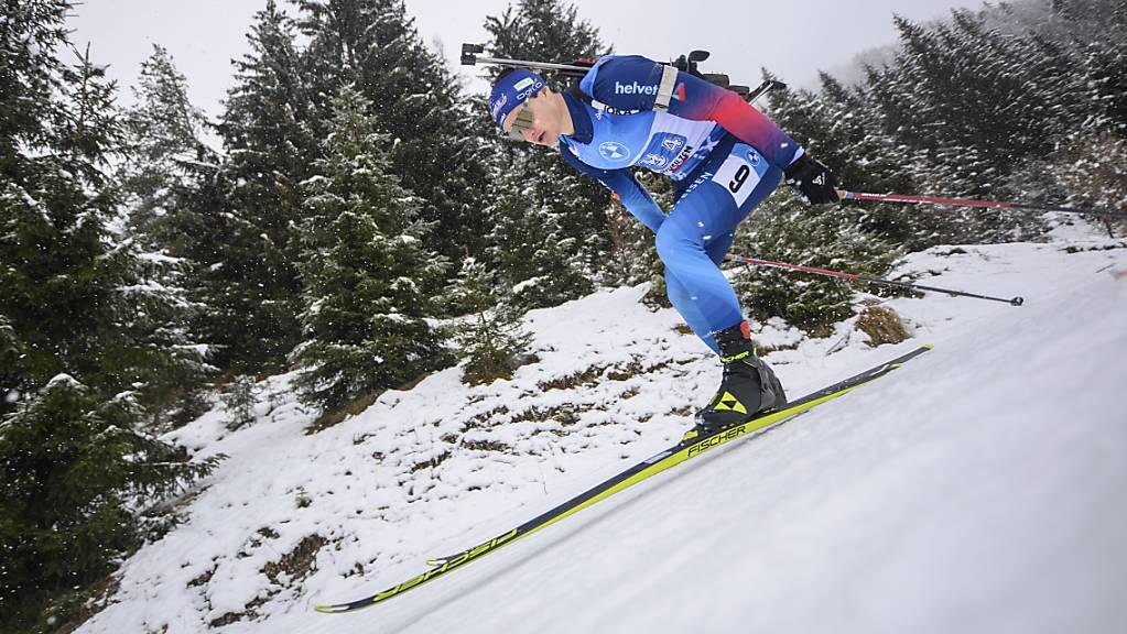 Als Schlussläufer noch drei Plätze gut gemacht: Niklas Hartweg zeigte mit der Schweizer Männer-Staffel eine gute Leistung.