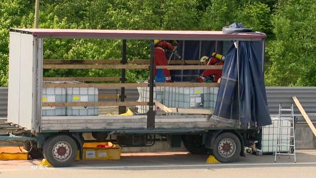 Chemie-Unfall im Üetlibergtunnel fordert Verletzte