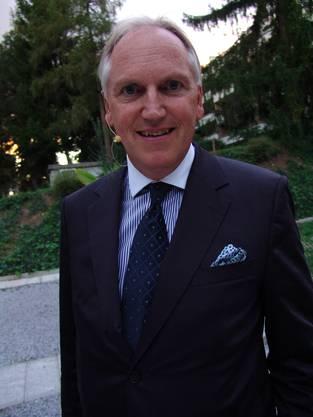 Thomas Borer am Marketing-Podium