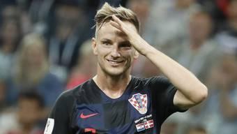 Kroatiens Ivan Rakitic: Aufgewachsen ist Doppelbürger, der in der U21 noch für die Schweiz spielte, im Aargauischen Möhlin.