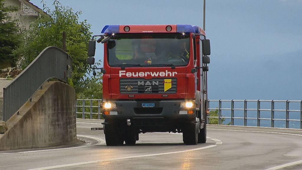 Feuerwehr musste 23 Mal ausrücken ++ Autokino Altstätten fiel aus