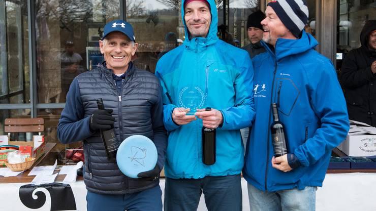 v.l. Paul Francz (CH) 2. Rang, Otfried Derschmidt (A) 1. Rang, Jean-Louis Tanghe (B) 3. Rang