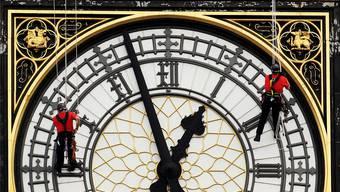 Wie das Zifferblatt des Big Ben hat auch das gesamte Parlamentsgebäude eine Gerneralüberholung nötig. Getty Images