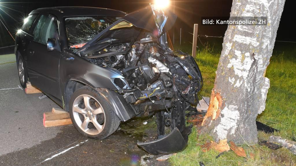 Gossau ZH: Mann bei Unfall schwer verletzt