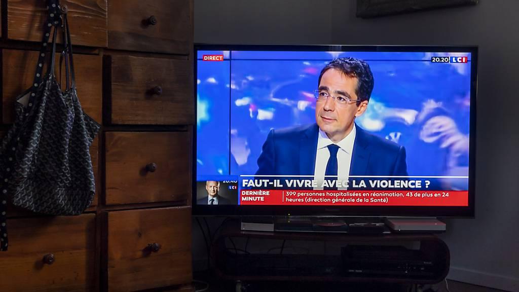 Ex-RTS-Moderator Darius Rochebin zurück am französischen Fernsehen